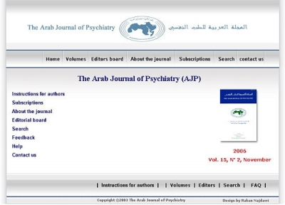 Arab Psychiatry